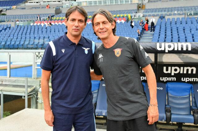 Benevento-Lazio, sfida tra i fratelli Inzaghi